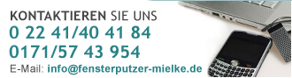 Siegburg Reinigung Hennef Troisdorf Telefon: 0 22 41/40 41 84 - Mobil: 0171/57 43 954